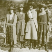 Beth, Blanche, Eleanor and Marjorie